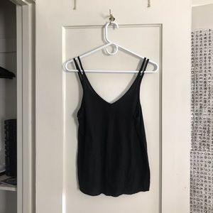 Alo yoga black tank top